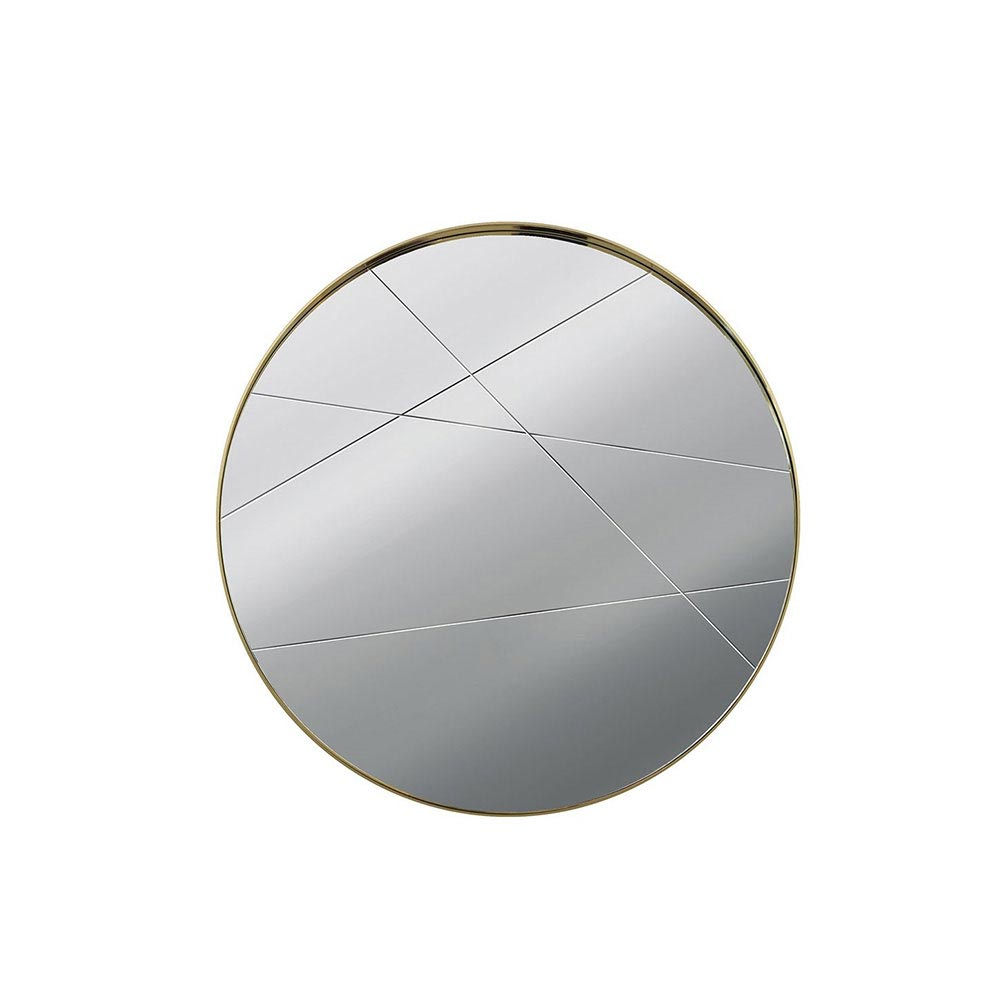 Infinity Round Mirror by Giorgio Collection