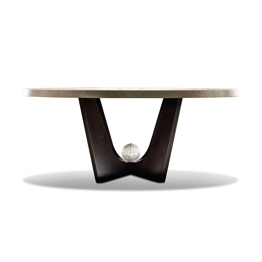 Lifetime Round Dining Table by Giorgio Collection