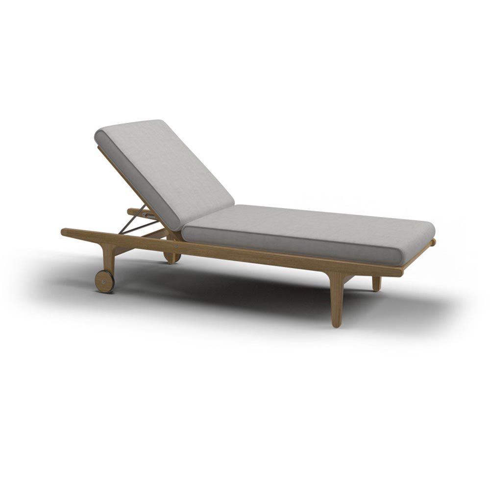 Bay Sun Lounger by Gloster