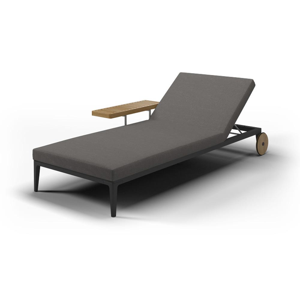 Grid Sun Lounger by Gloster