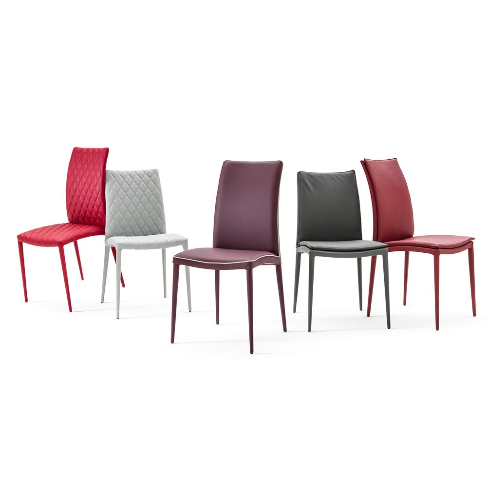 Asia-High Soft Dining Chair by Italforma