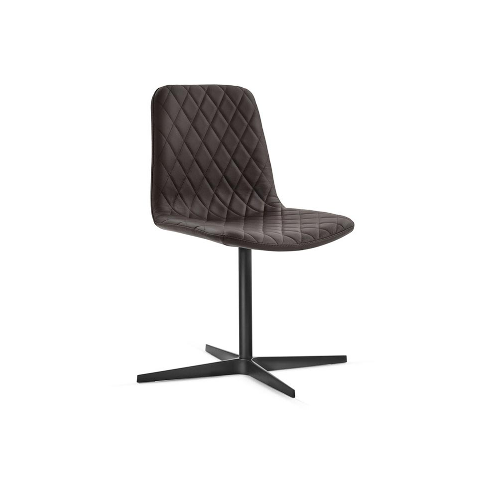 Lenny 4 Ways Swivel Chair by Italforma