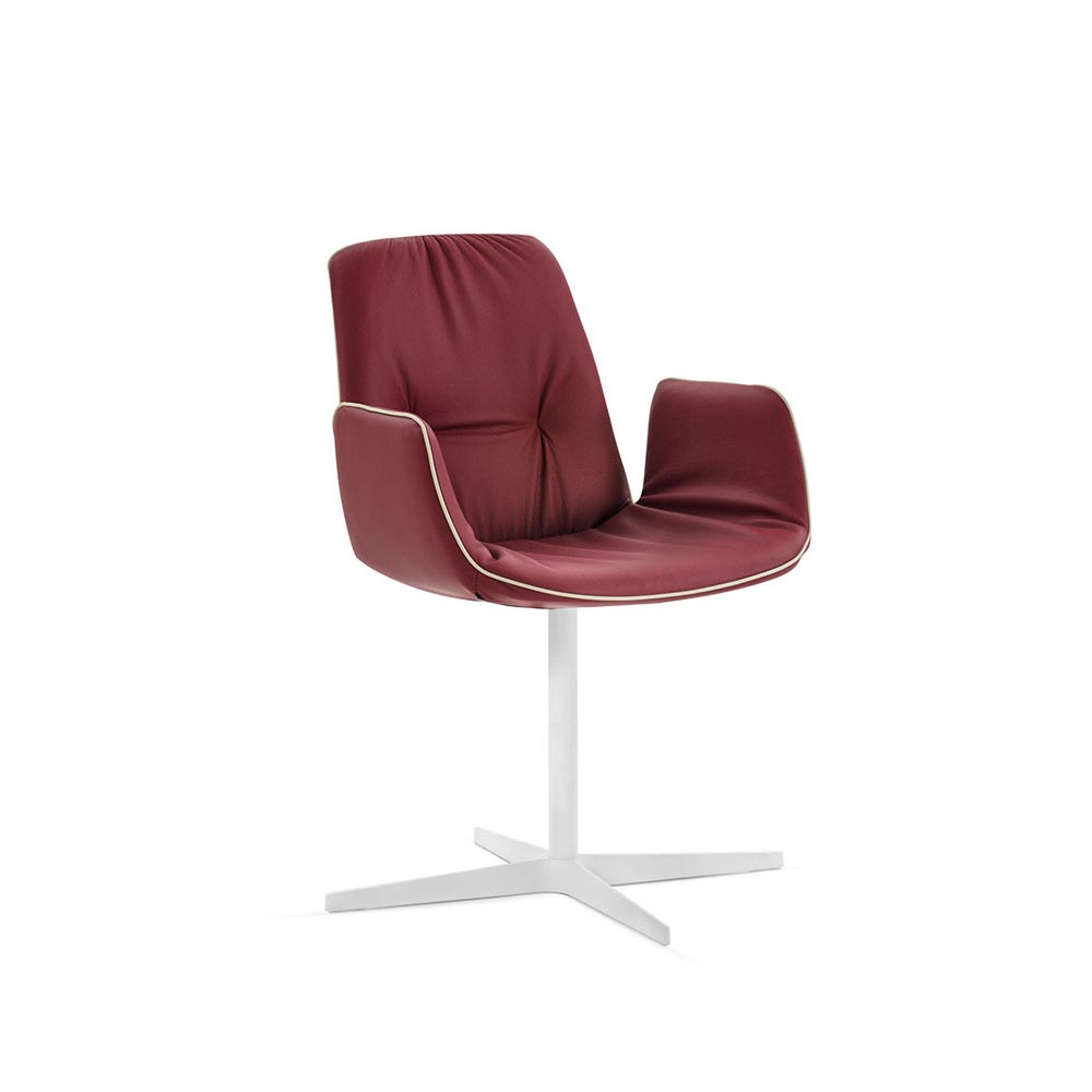 Lisa 4 Ways Swivel Armchair by Italforma