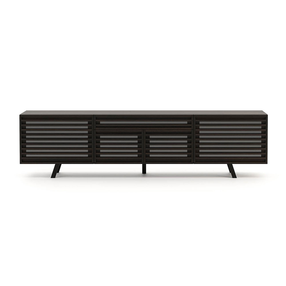 Retro TV Wall Unit by Laskasas