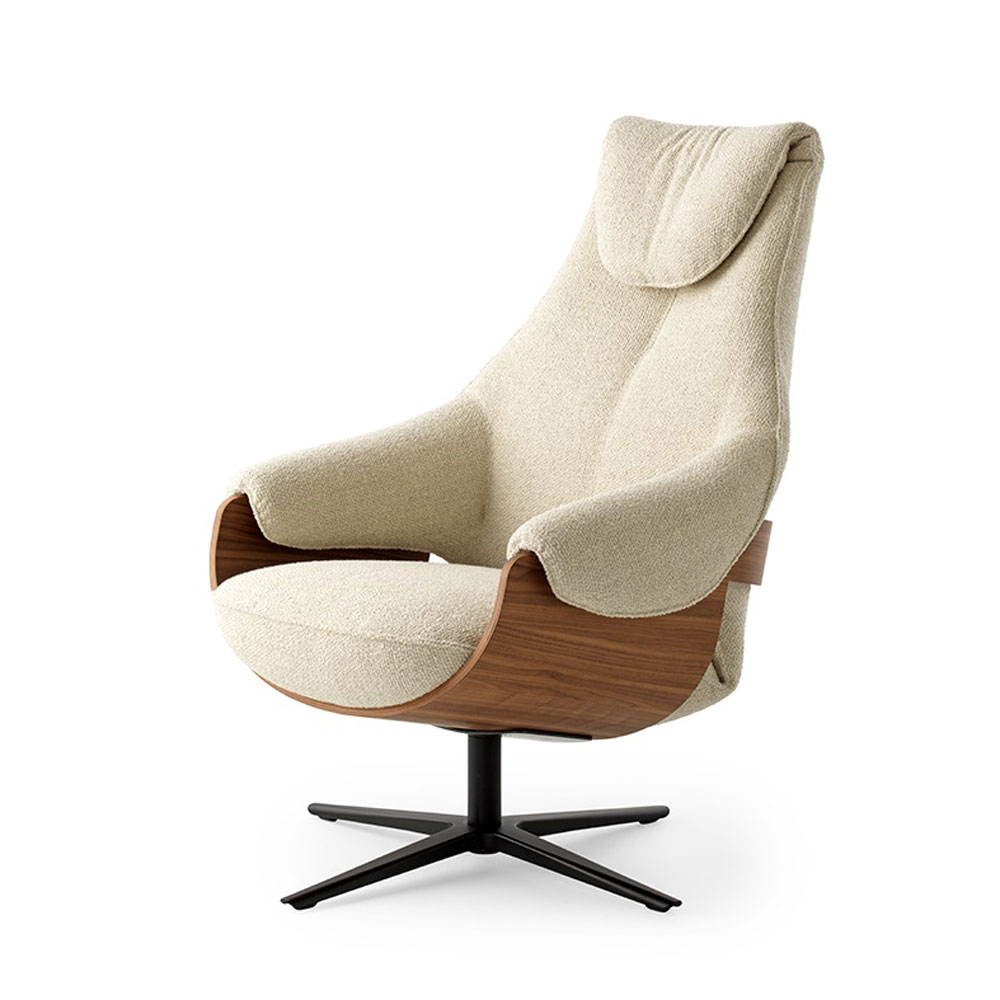 Cream Armchair by Leolux