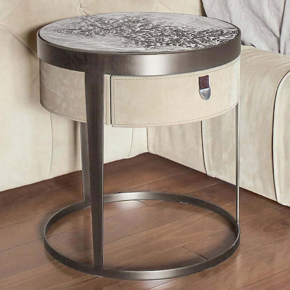 Amadeus Bedside Table by Longhi