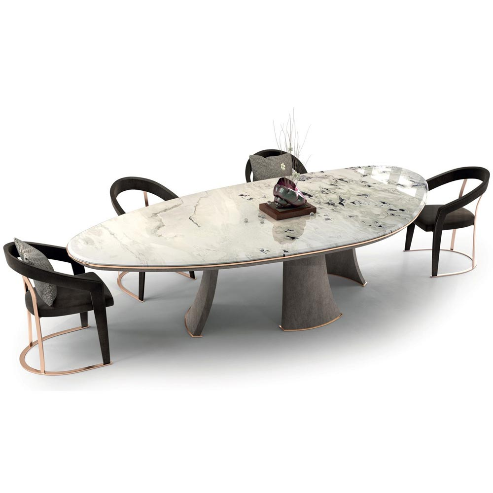 Damien Dining Table by Longhi