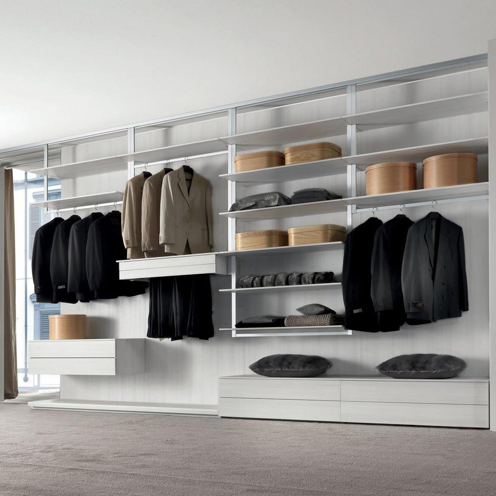 Fly-System Walk In Closet by Longhi