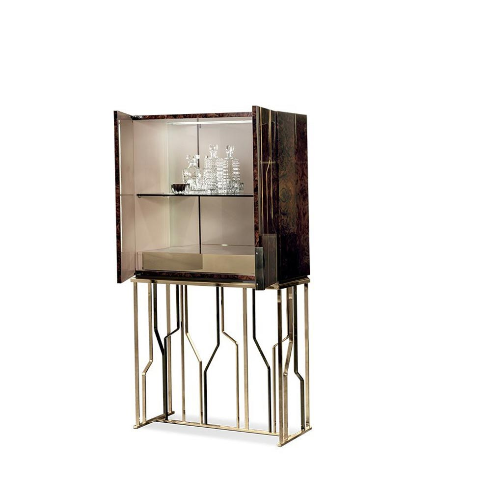 Ginza Bar Cabinet by Longhi