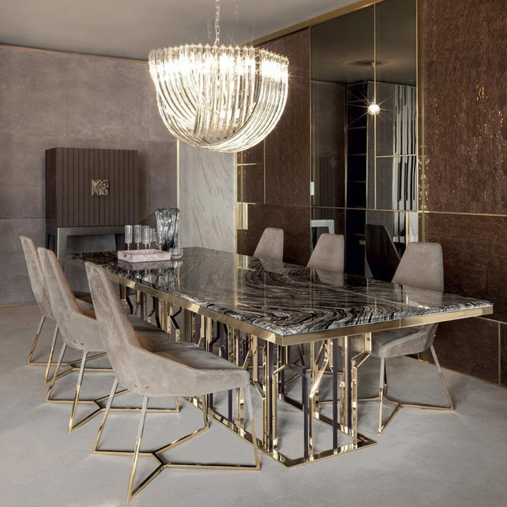 Ginza Dining Table by Longhi