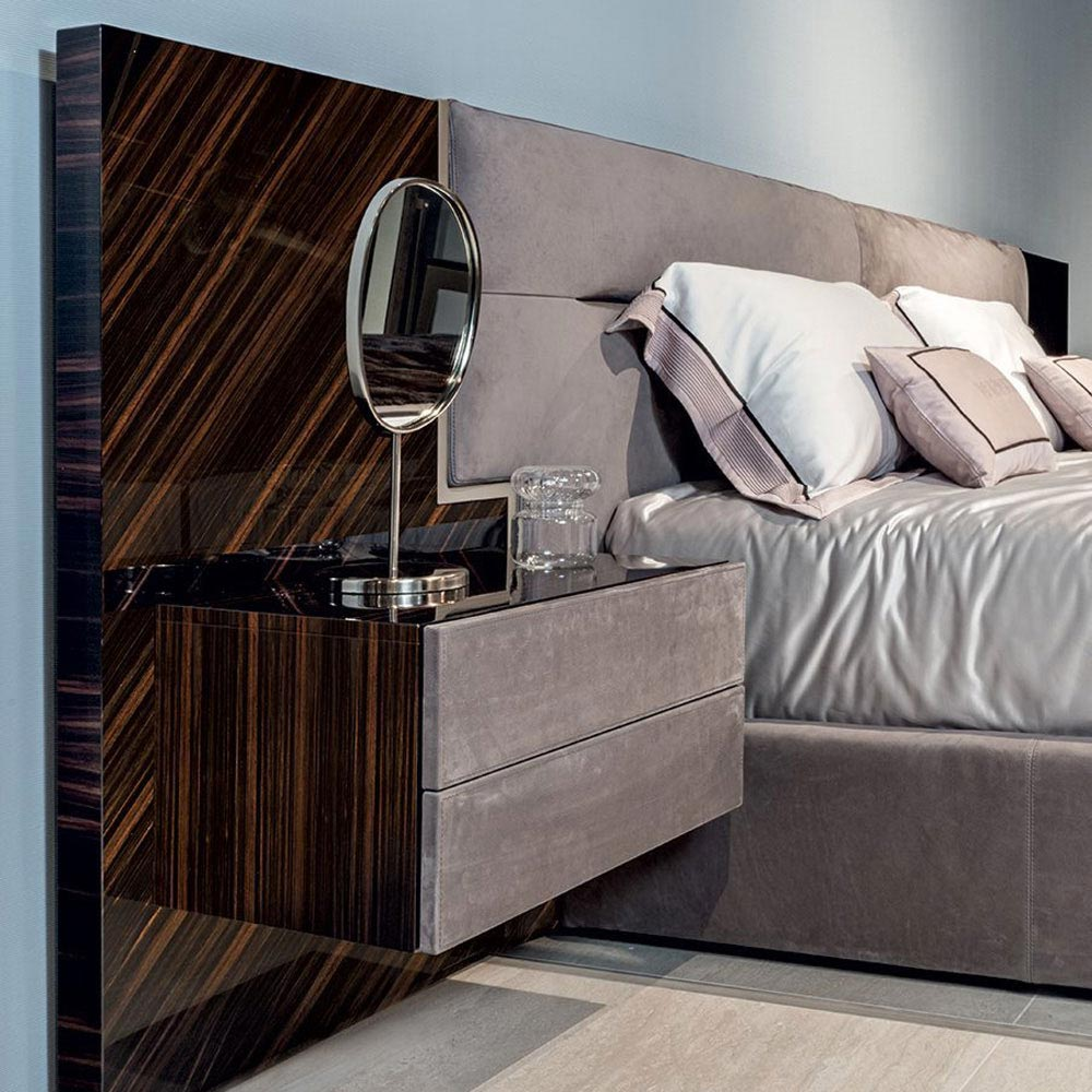 Glen Double Bed by Longhi