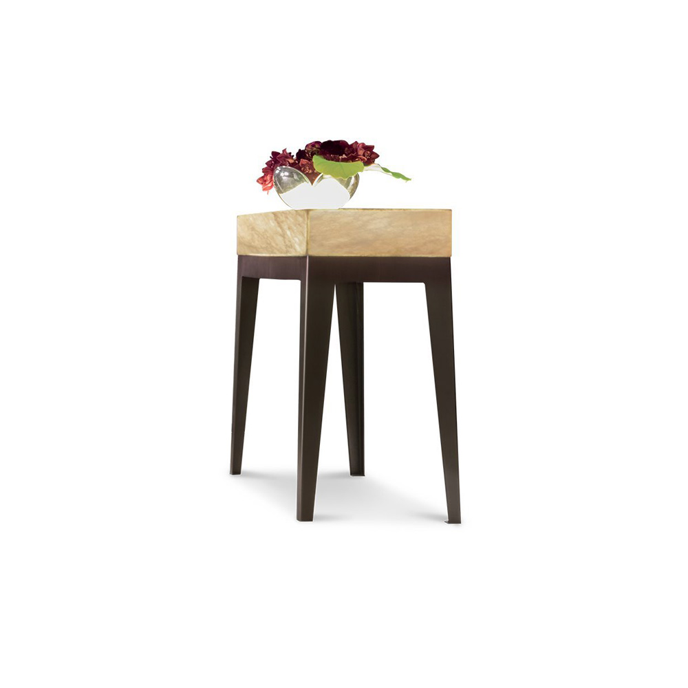 Gorky Onyx Console Table by Longhi