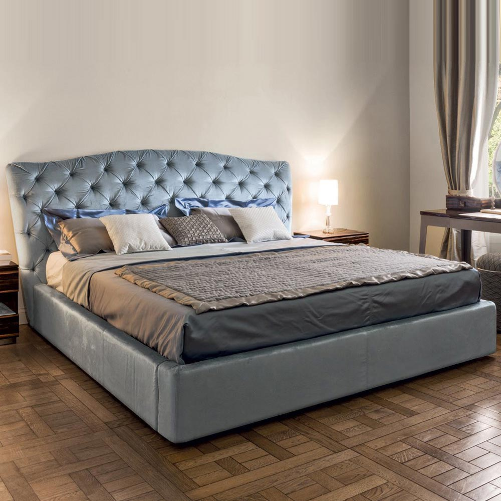 Grace Double Bed by Longhi