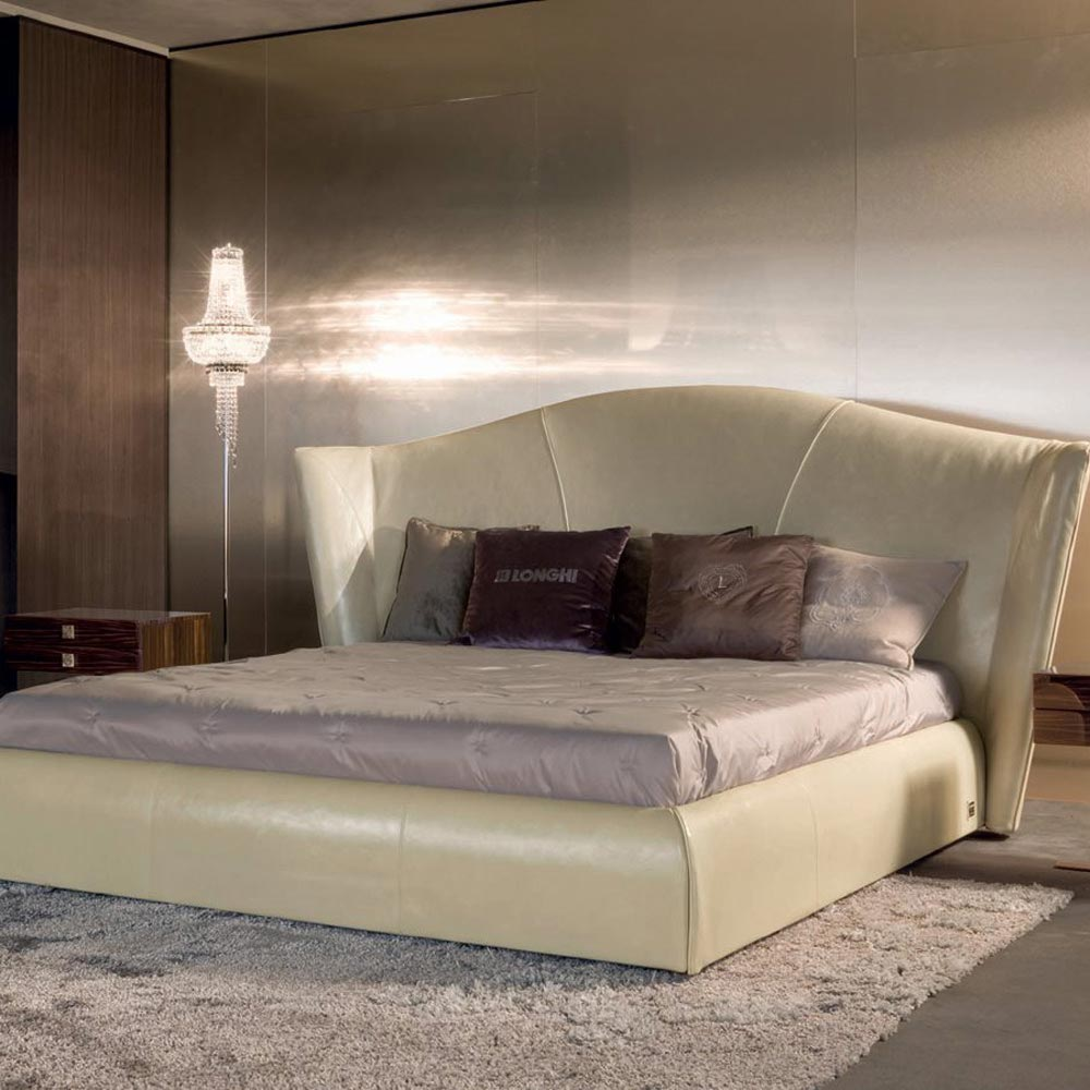Heron Double Bed by Longhi