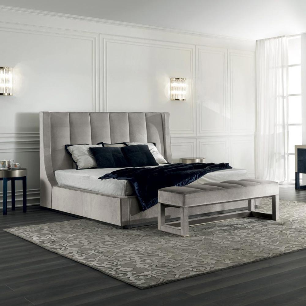 Kubrick Double Bed by Longhi