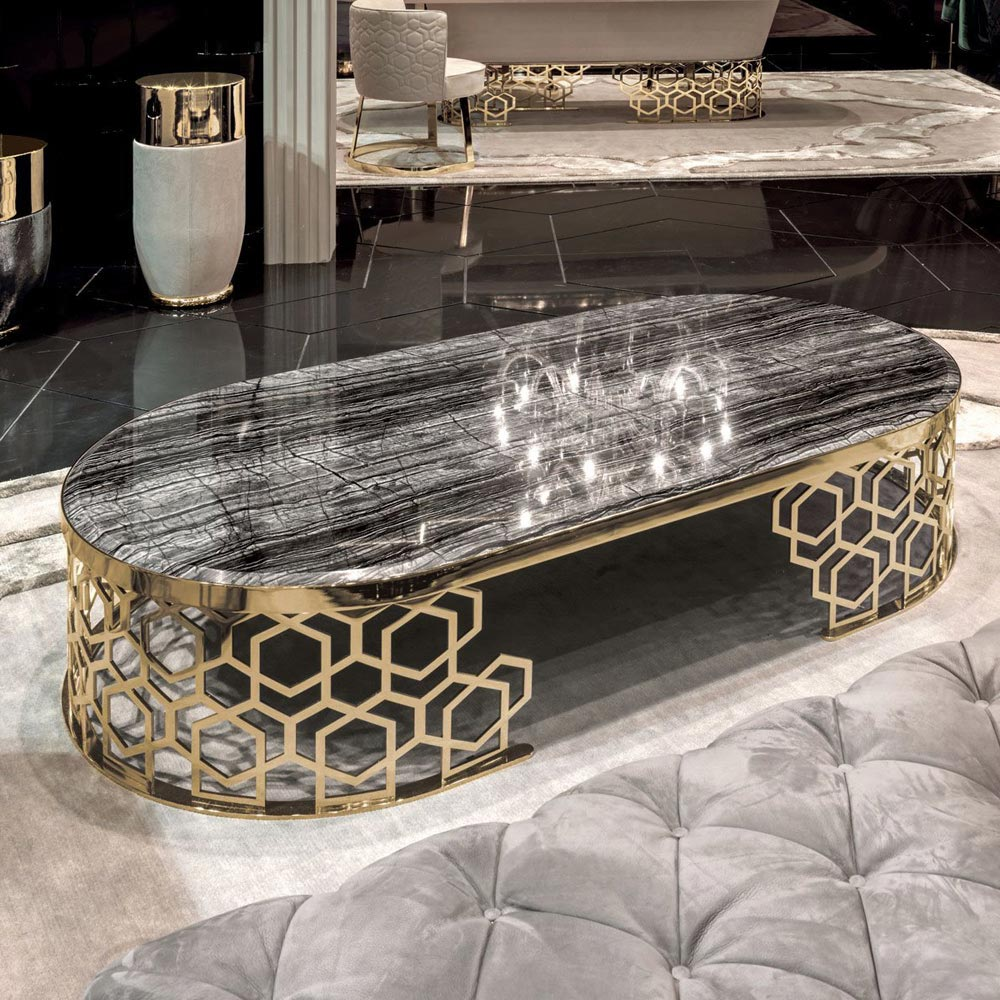 Manfred Coffee Table by Longhi