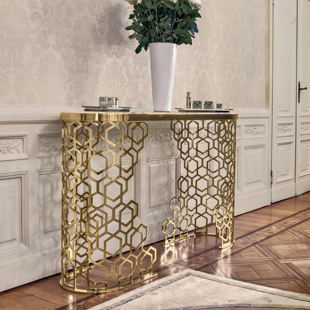 Manfred Console Table by Longhi