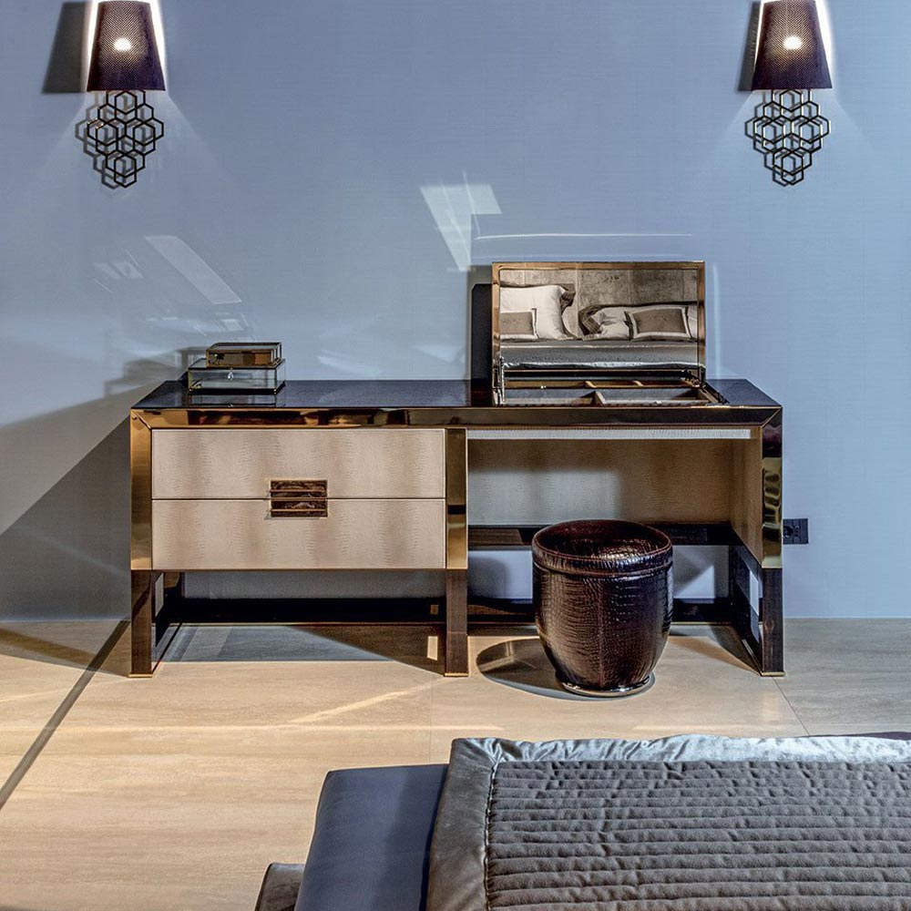 Orwell Make-Up Dressing Table by Longhi