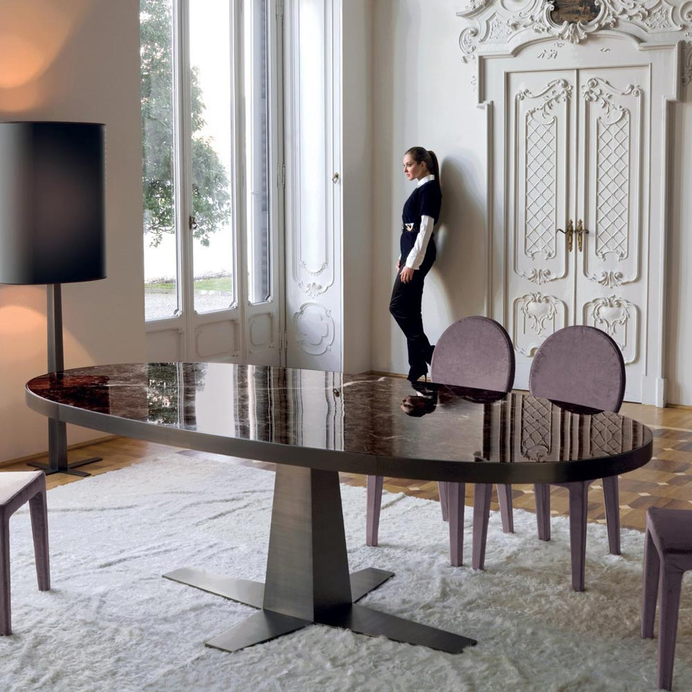 Rim Dining Table by Longhi