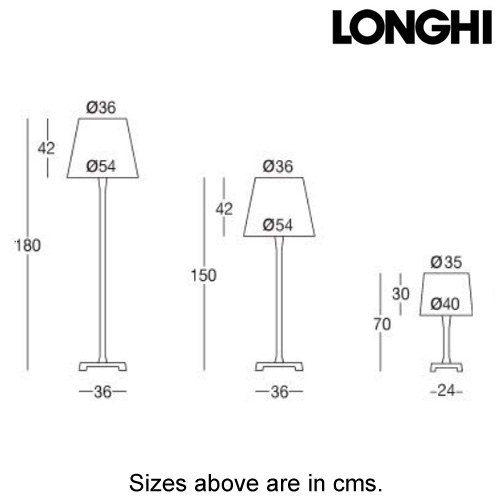 Lucilla Table Lamp by Longhi