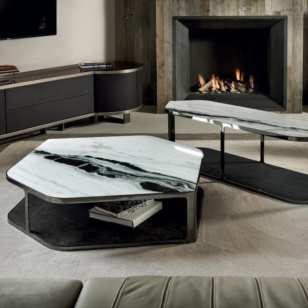 Tiles Coffee Table by Longhi