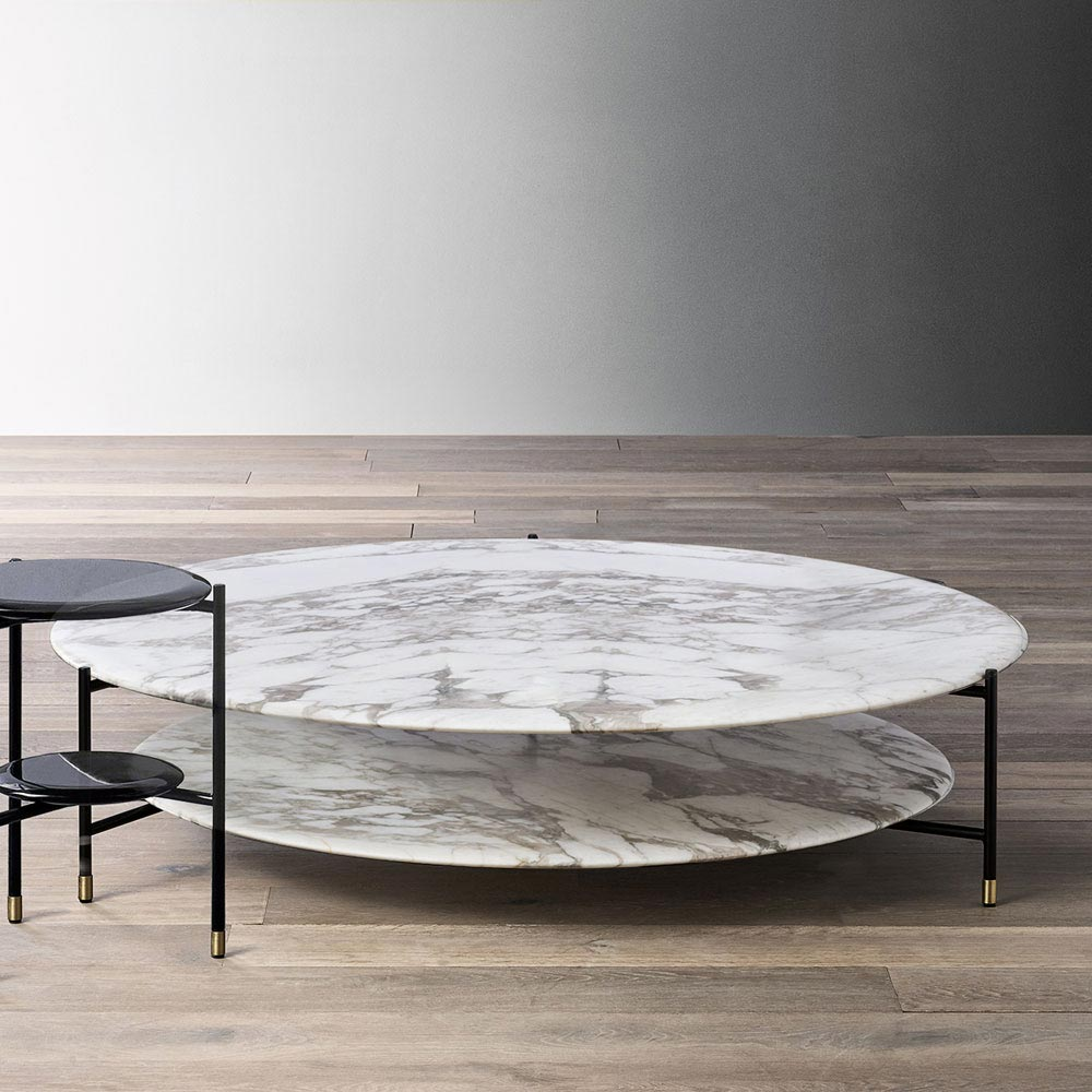 Adrian Coffee Table by Meridiani