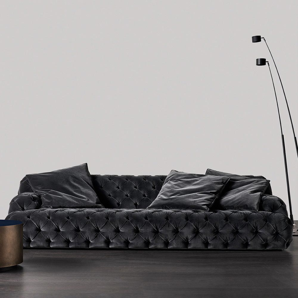 Norton Capitonne Sofa by Meridiani