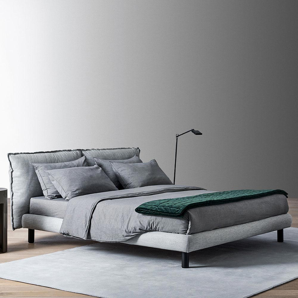 Oliver Double Bed by Meridiani