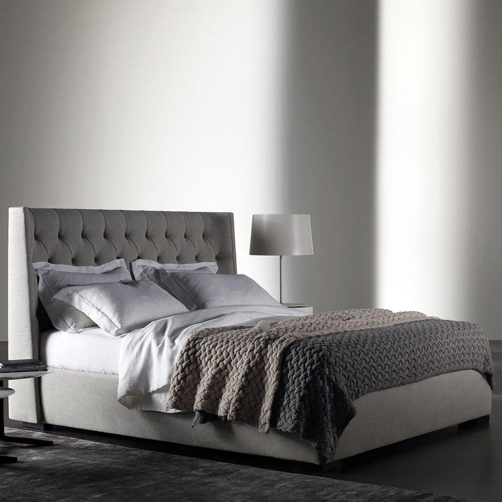 Turman Double Bed by Meridiani