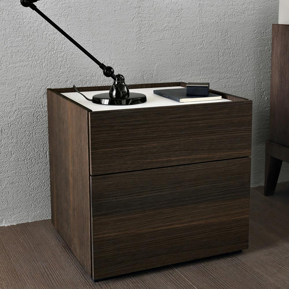 Cube Bedside Table by Misura Emme