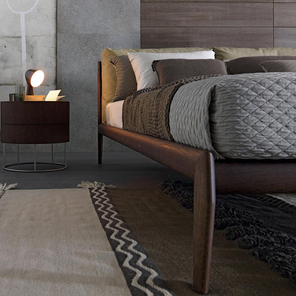Eladio Double Bed by Misura Emme