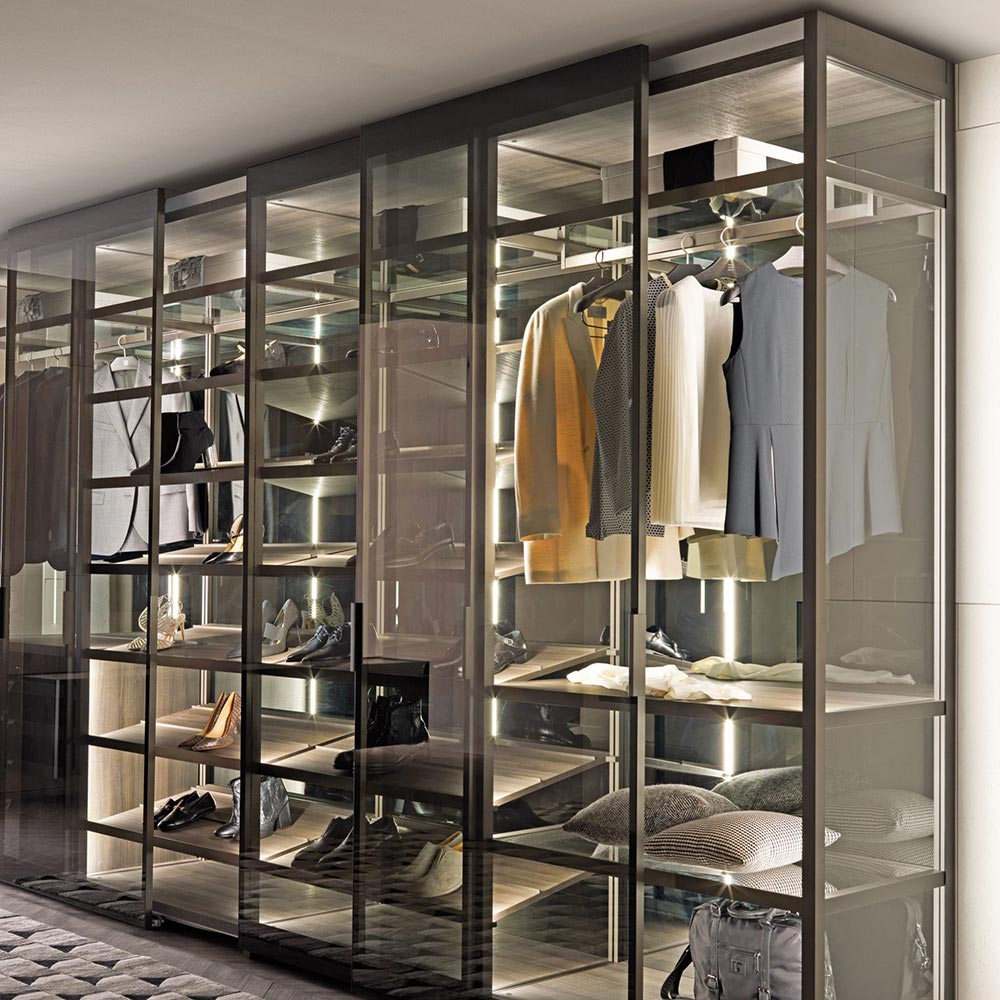 Palo Alto Walk In Wardrobe by Misura Emme
