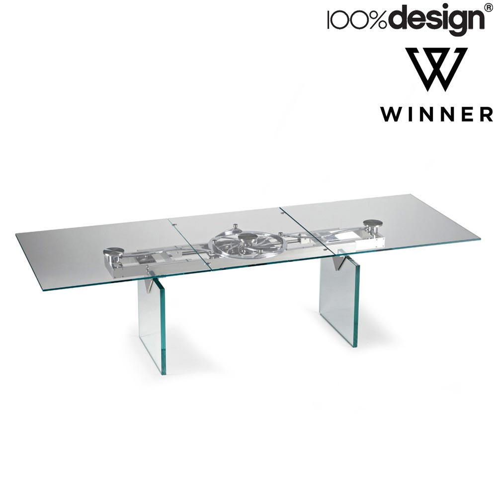 Quasar Extending Dining Table by Naos