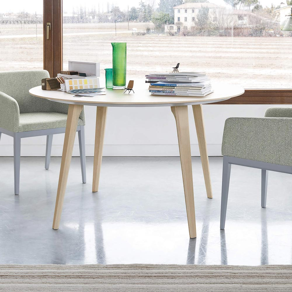 Argos Round Dining Table by Novamobili