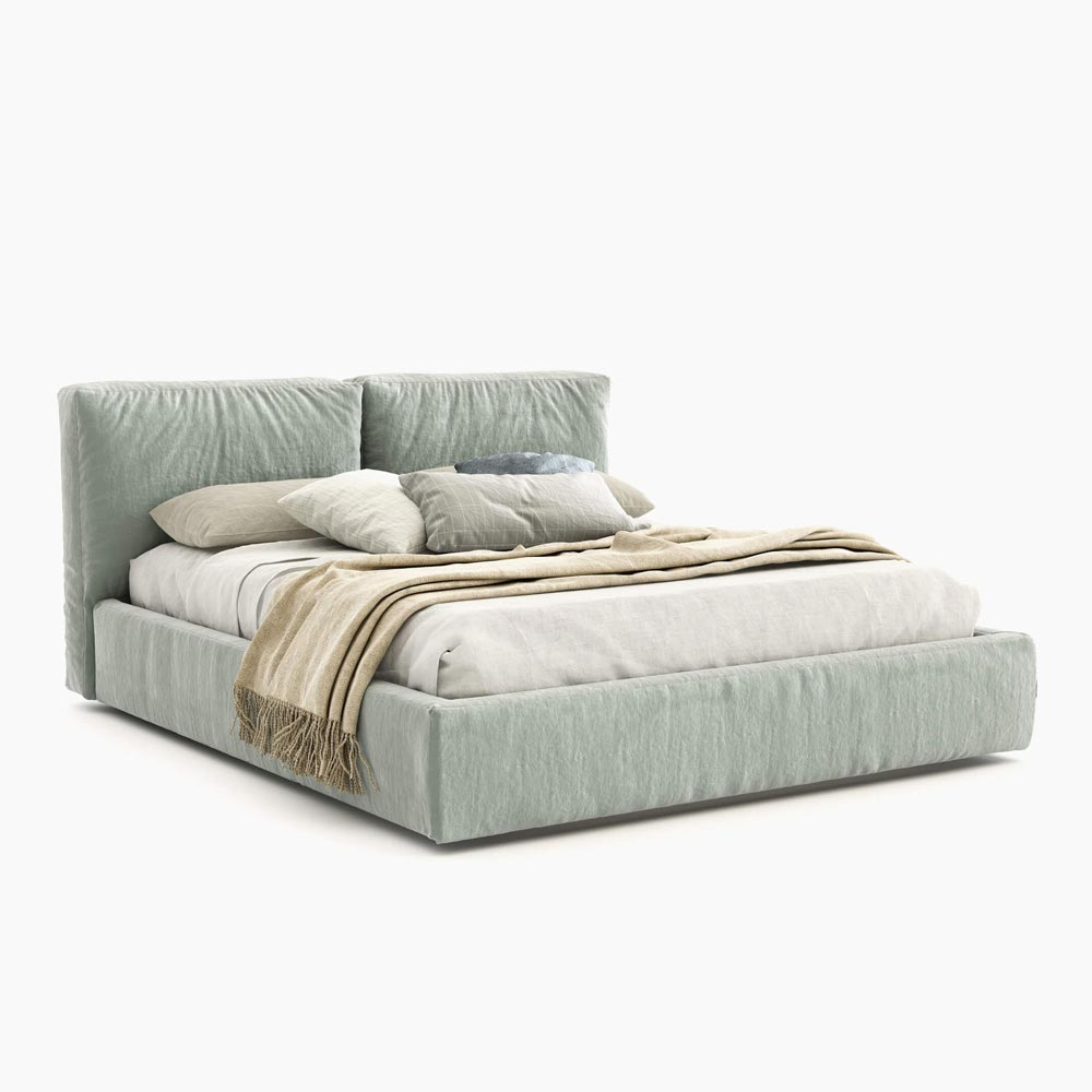 Brick Double Bed by Novamobili