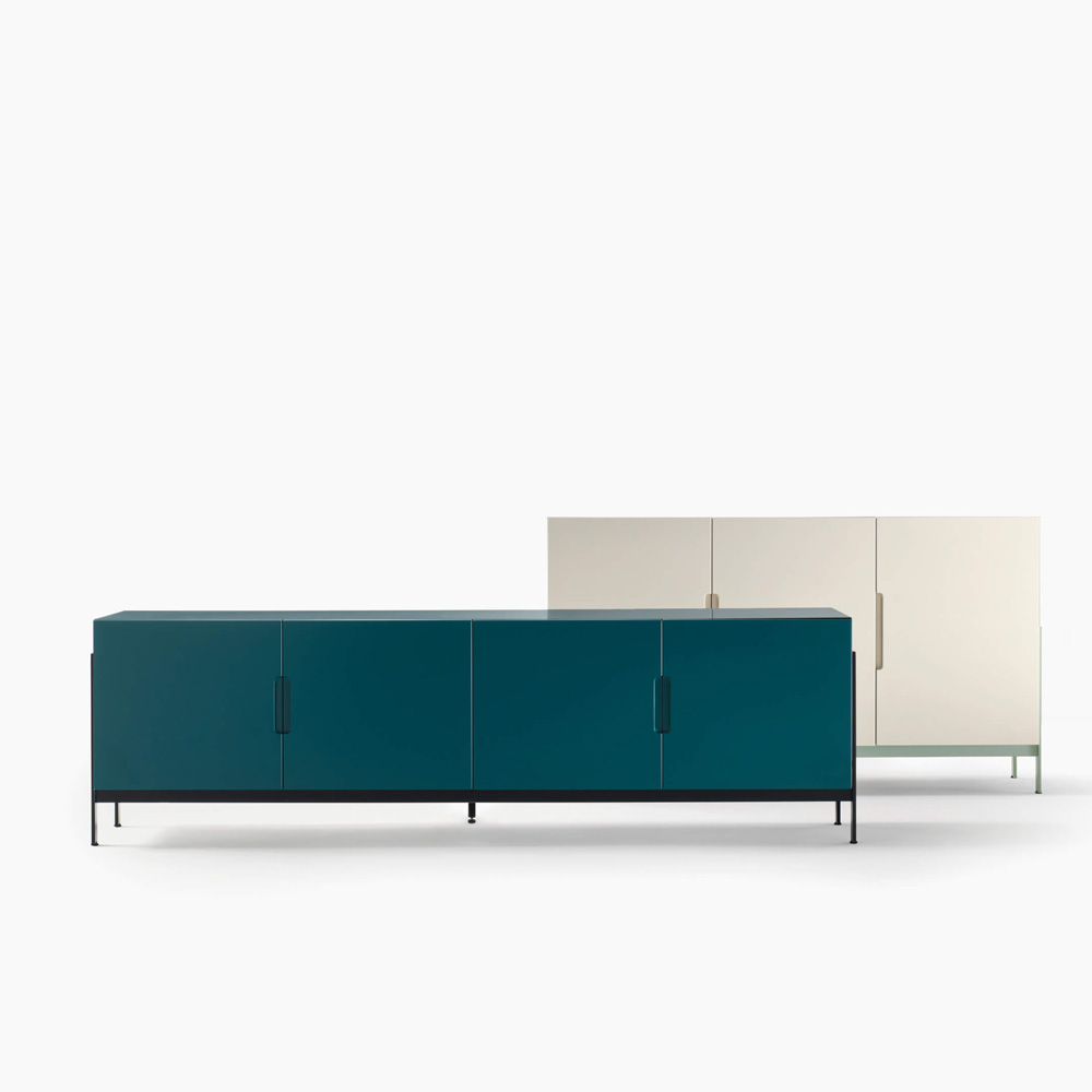 Float Low Rectangular Sideboard by Novamobili