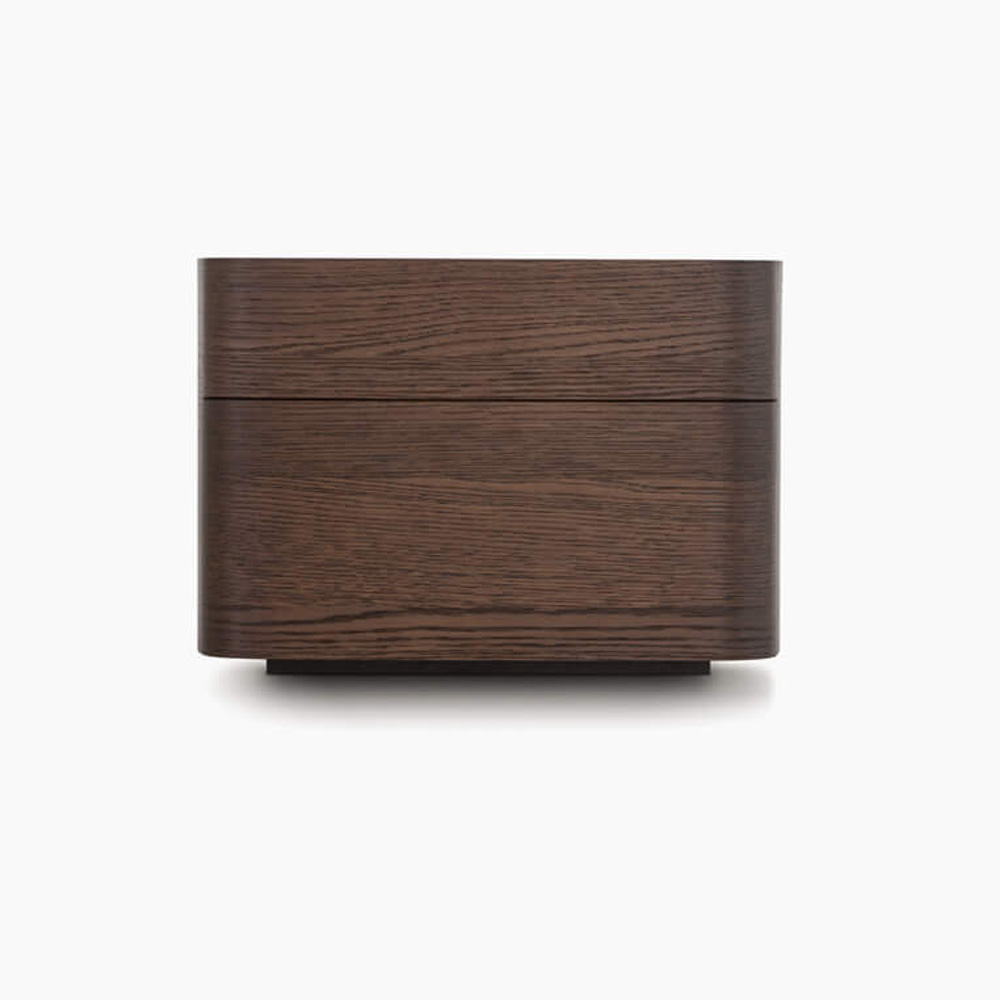 Norman 2 Drawer Bedside Table by Novamobili