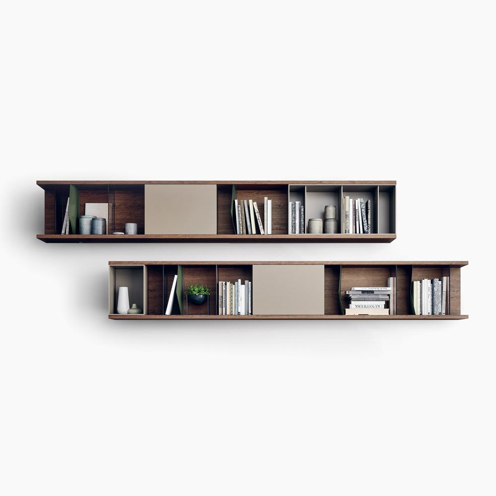 Reverse Bookcase by Novamobili