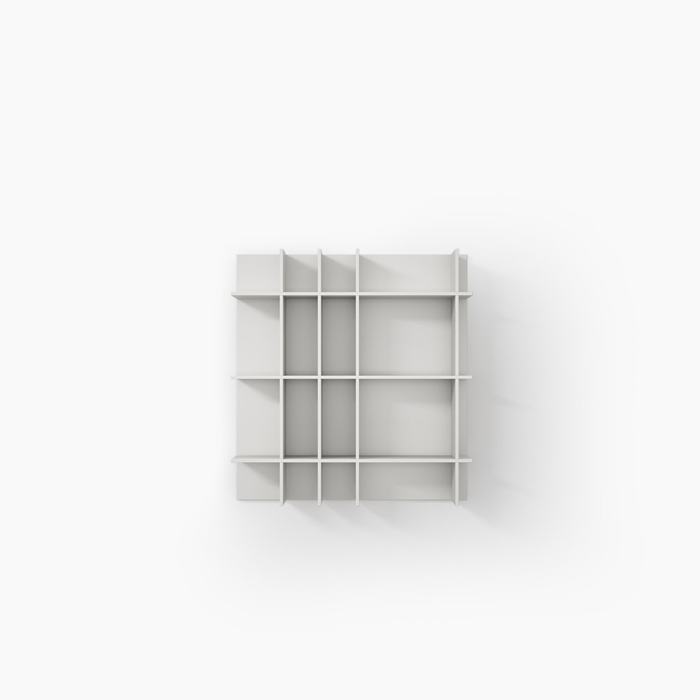 Slim Bookcase by Novamobili