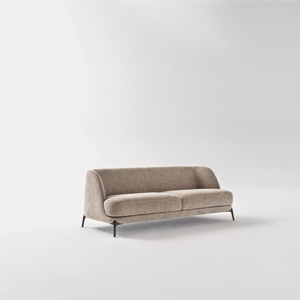 Velvet Sofa by Novamobili