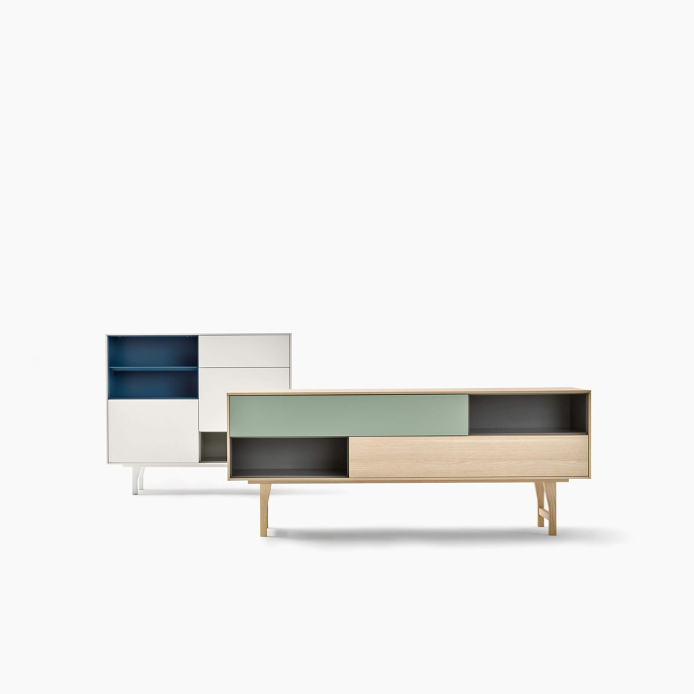 Wicked Square Sideboard by Novamobili