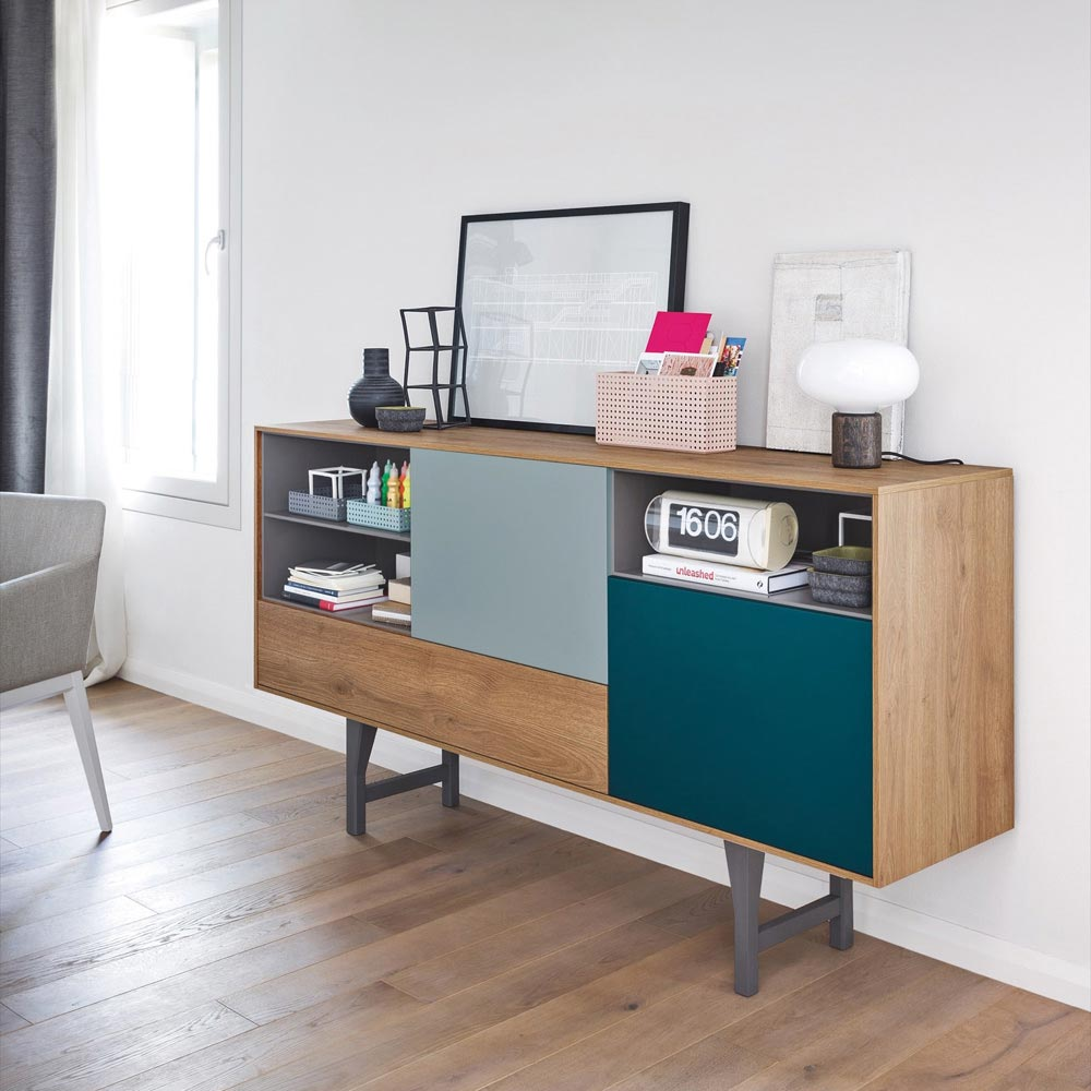 Wicked Tall Rectangular Sideboard by Novamobili