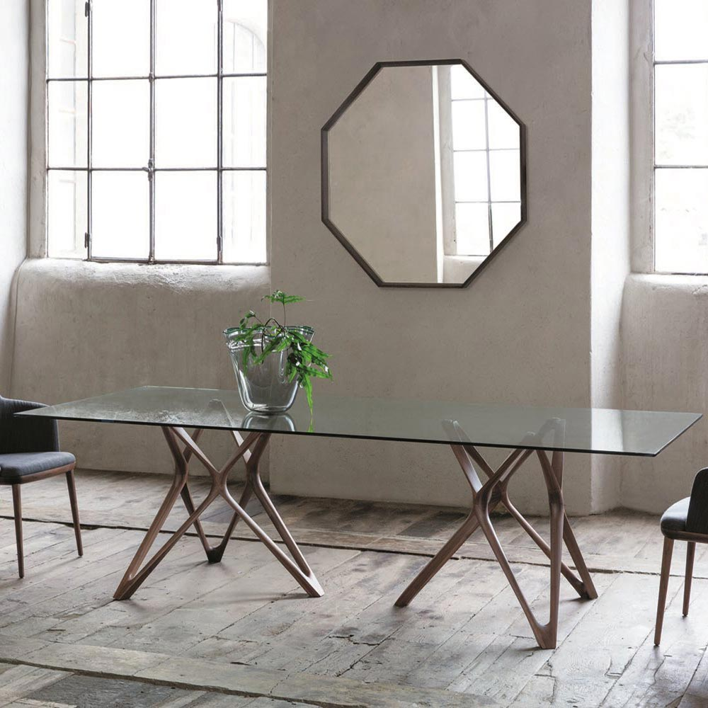 Circe Rectangle L Dining Table by Porada