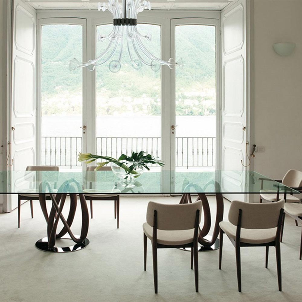Infinity Rectangle C Dining Table by Porada