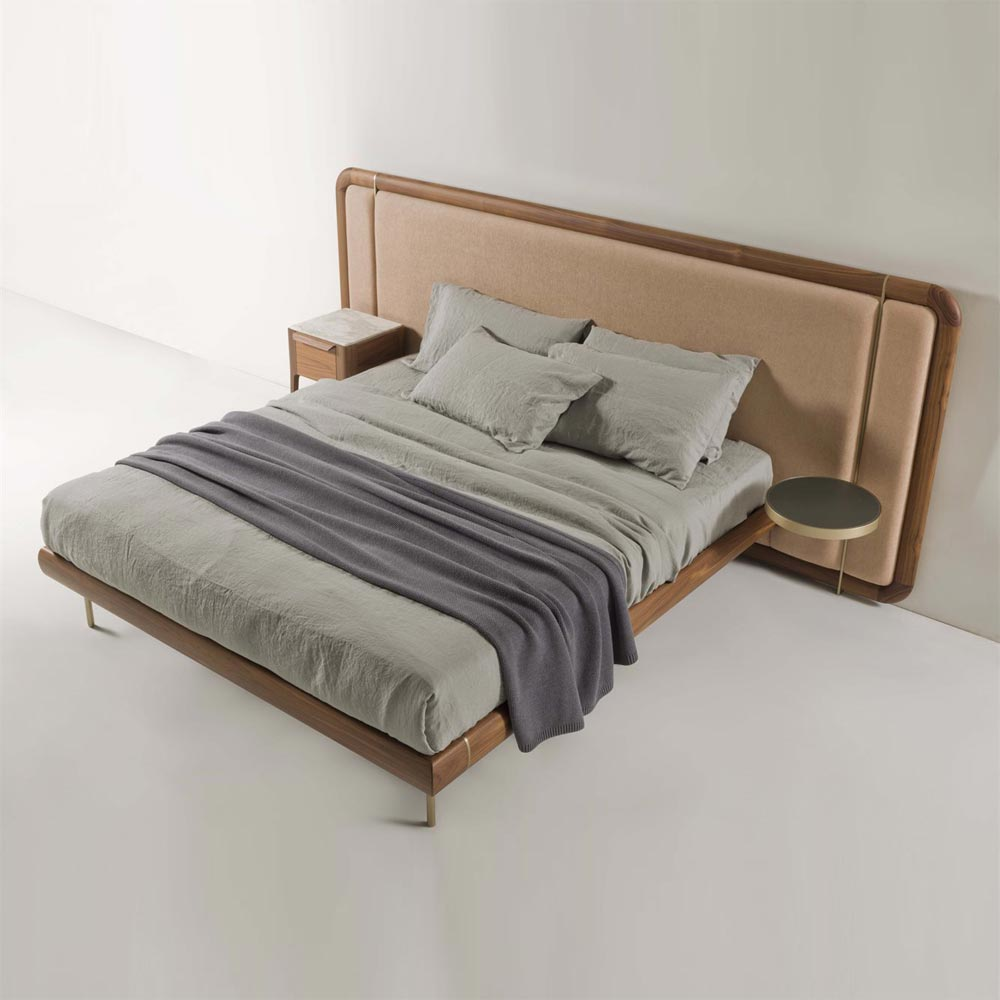 Killian 130 Double Bed by Porada