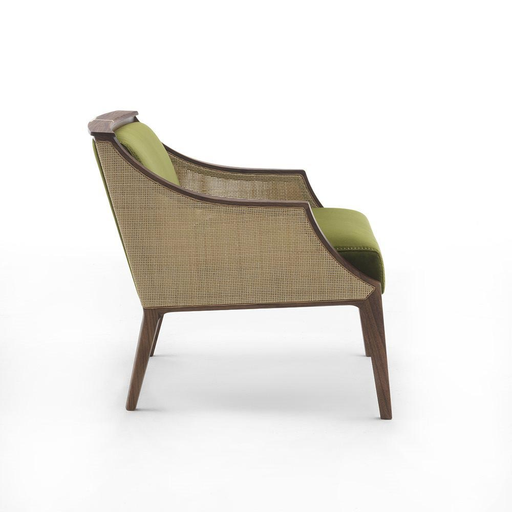 Liala Straw Armchair by Porada