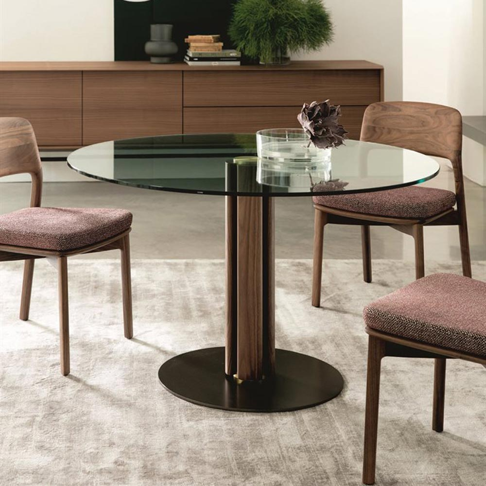 Quadrifoglio Round 3 Dining Table by Porada