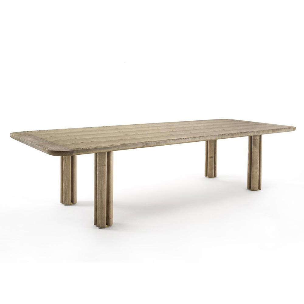 Quadrifoglio Wood Dining Table by Porada