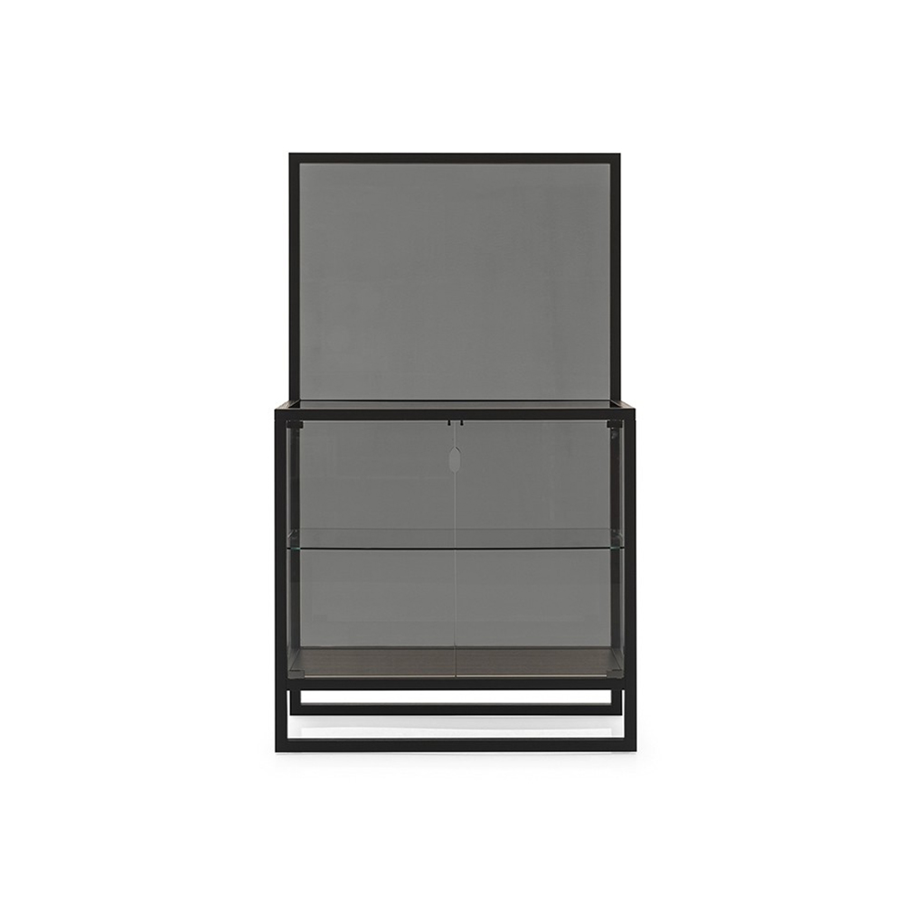 Teca 1 Display Cabinet by Quick Ship