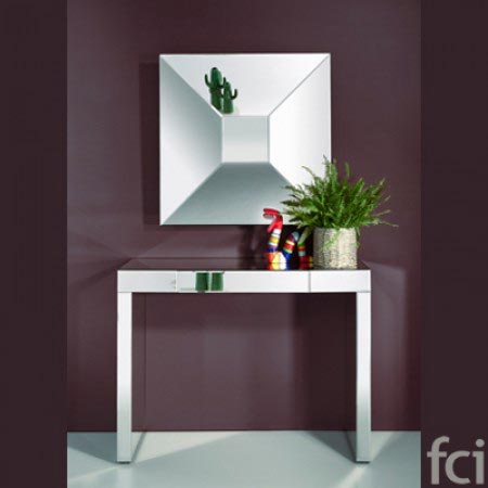 Disco L Wall Mirror by Reflections